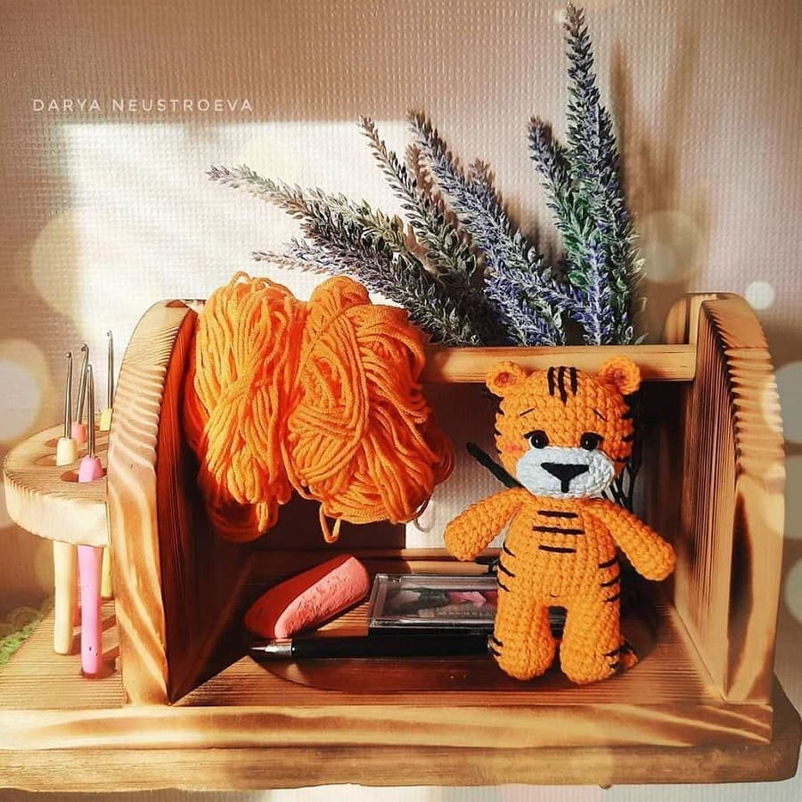 Amigurumi little tiger