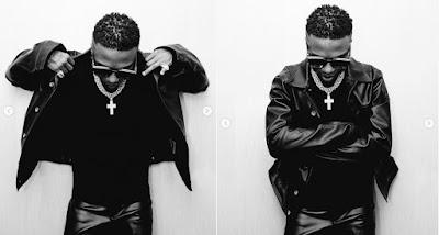 Wizkid Flaunts His Multi-Million Naira Chain In Latest Post (Photos)