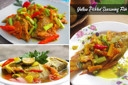 Asian Recipes Yellow Pickled seasoning Fish