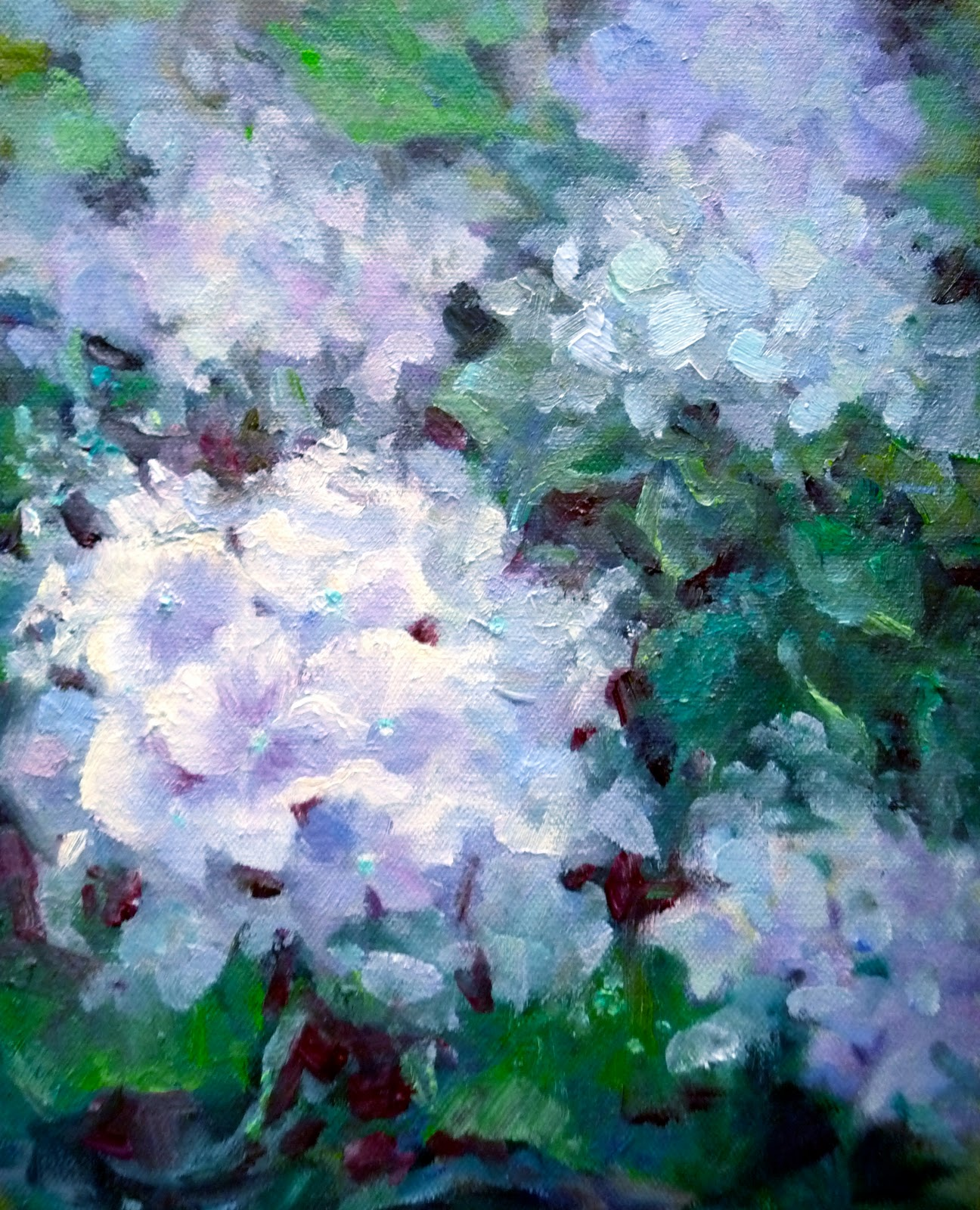 hydrangea paintings painting a day small masterpieces