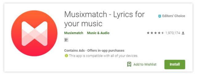 Musixmatch - Lyrics and Music
