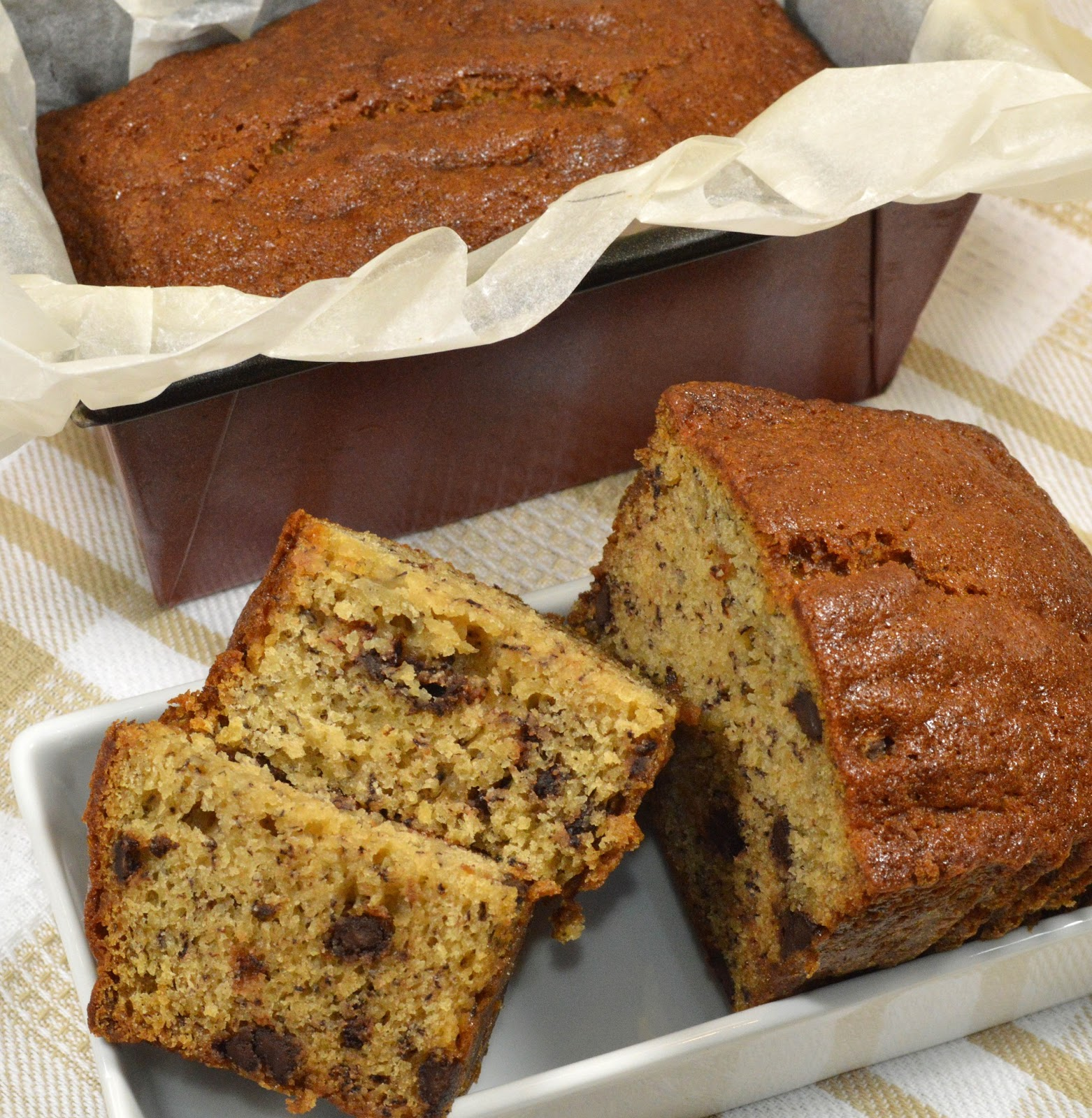 Mary Berry Chocolate Chip Loaf Cake