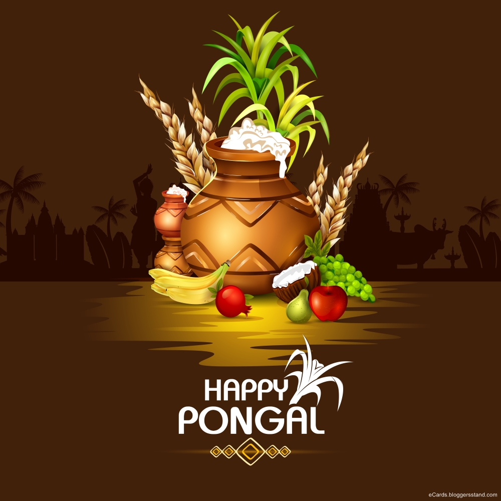 Happy pongal images png 2021