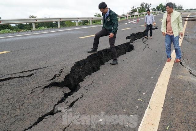 Đình chỉ nhiều lãnh đạo chỉ biết ăn hại và phá, vụ đường 250 tỷ chưa nghiệm thu đã hỏng