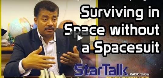 Exactly how Huge  you could survive in Space without a spacesuit Video?