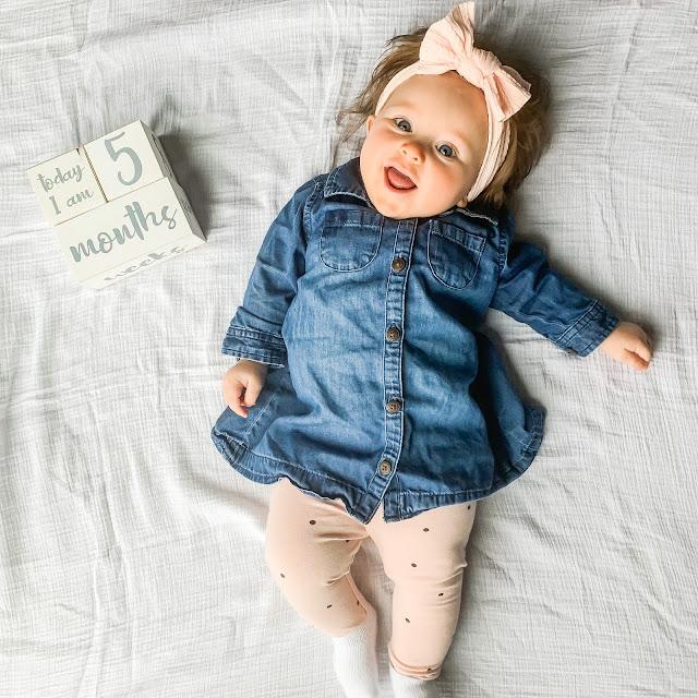 Baby 5 month update #babyupdate #5months