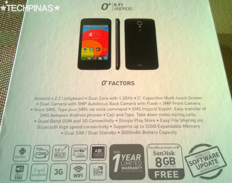 O 8 91 Price Specs Unboxing Initial Review Antutu
