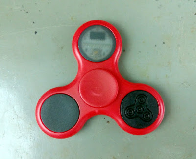 Hand Spinner de LED com POV
