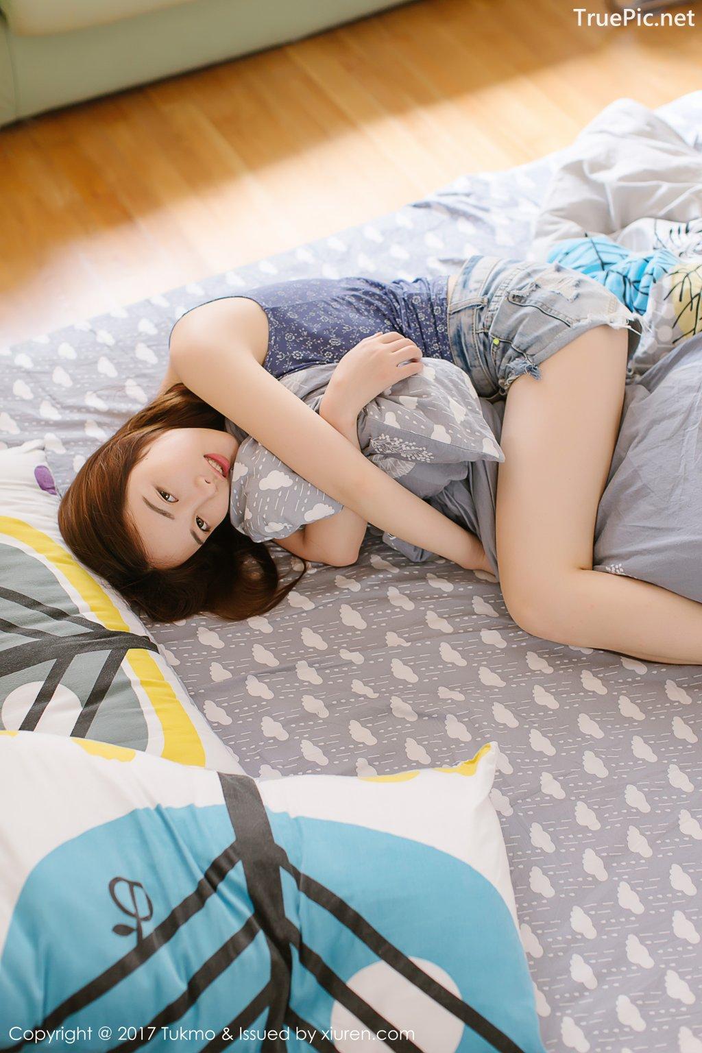 Image-Tukmo-Vol-096-Model-Mian-Mian-绵绵-Cute-Cherry-Girl-TruePic.net- Picture-3