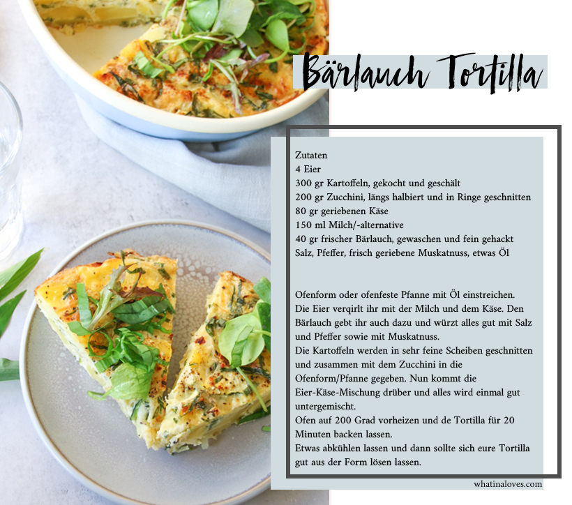Bärlauch-Tortilla Rezept