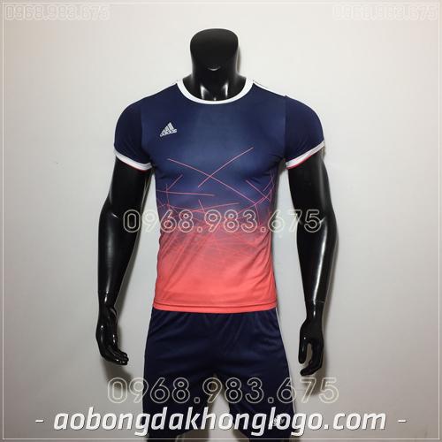 Áo Bóng Đá Ko Logo Adidas QT Đen 2019