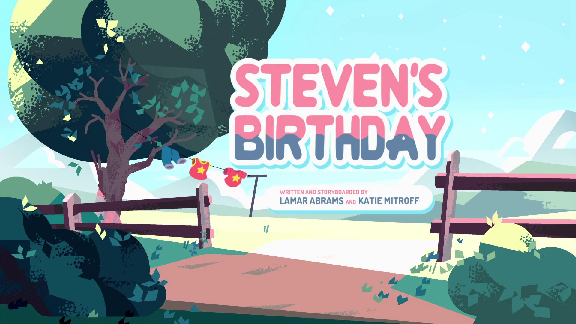 Steven Universo - Aniversário do Steven