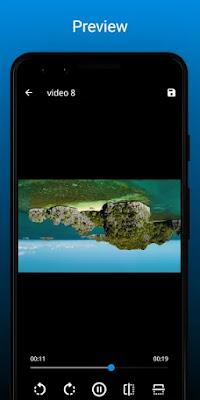 تحميل تطبيق VideoFlip - Video Rotate and Flip APK برنامج تدوير وانعكاس الفيديو