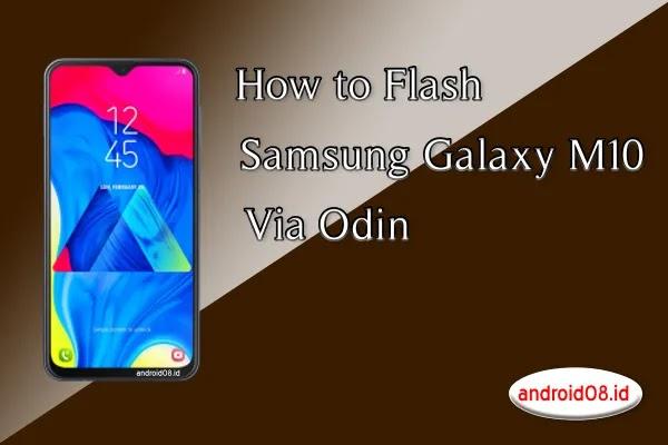 Flashing Samsung Galaxy M10