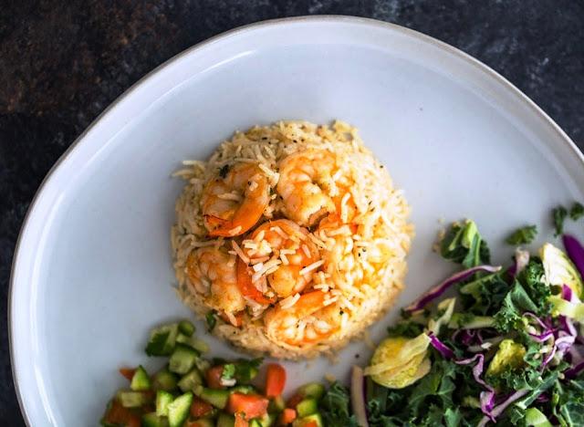 Garlic Shrimp and Rice - 3