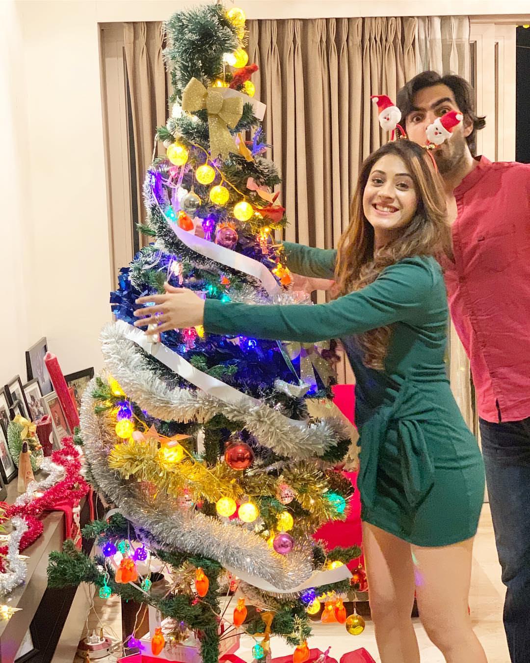 hiba nawab christmas celebration