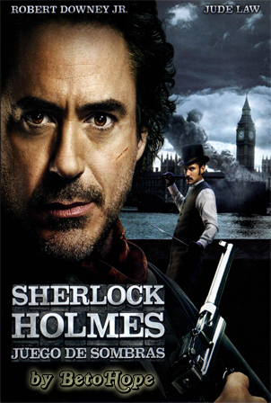 Sherlock Holmes 2: Juego De Sombras [2011 HD 1080P Latino [Google Drive] LevellHD