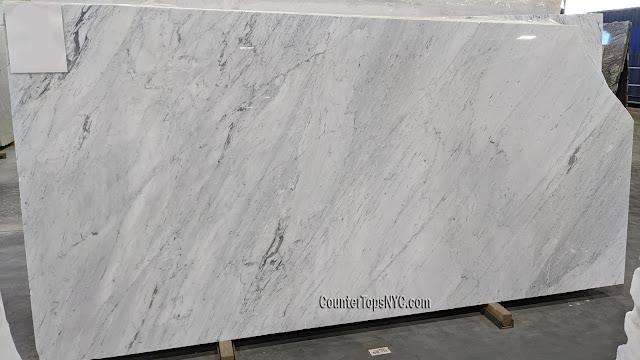 Carrara White Marble Slab 2cm NYC