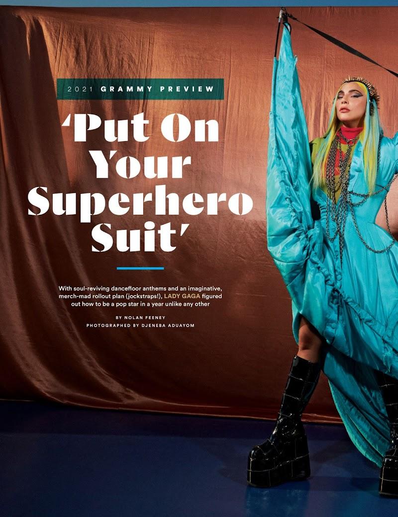 Lady Gaga Featured in Billboard Magazine-  September 2020
