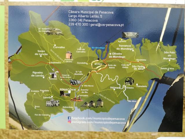 Zonas Turísticas de Penacova