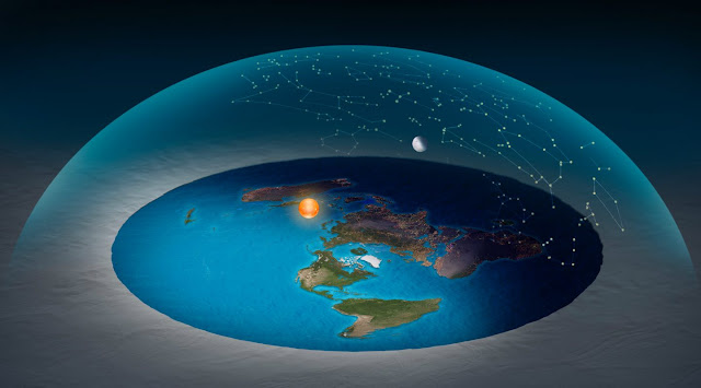 ماذا لو كانت الأرض مسطحة ؟