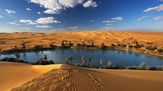 Όαση στην έρημο.