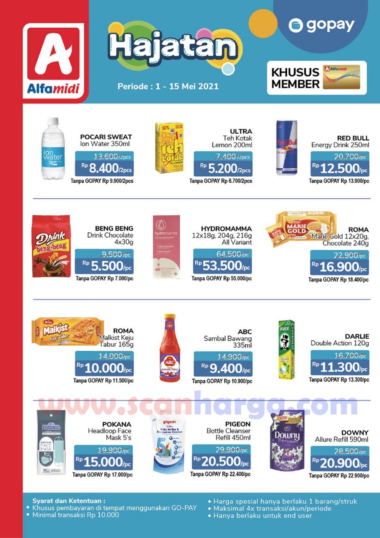 Promo Alfamidi Hajatan GOPAY Periode 1 - 15 Mei 2021 1