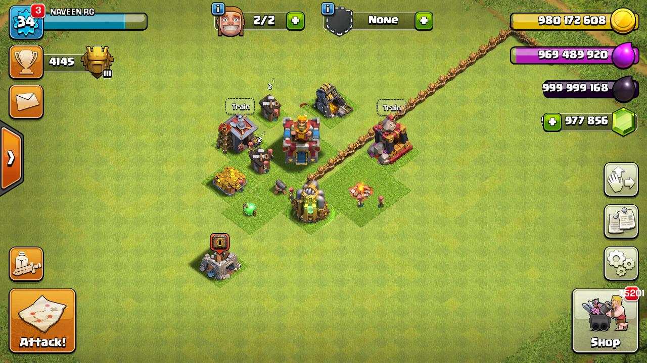 mod clash of clans