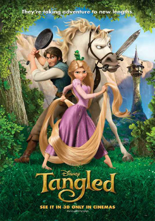 Tangled 2010 BRRip 850MB Hindi Dual Audio 720p Watch Online Full Movie Download bolly4u
