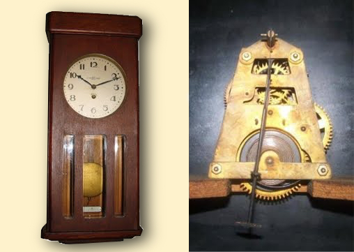 at the same time the 2nd swf made ansonia based 8 day wall clocks like the one belowu2026
