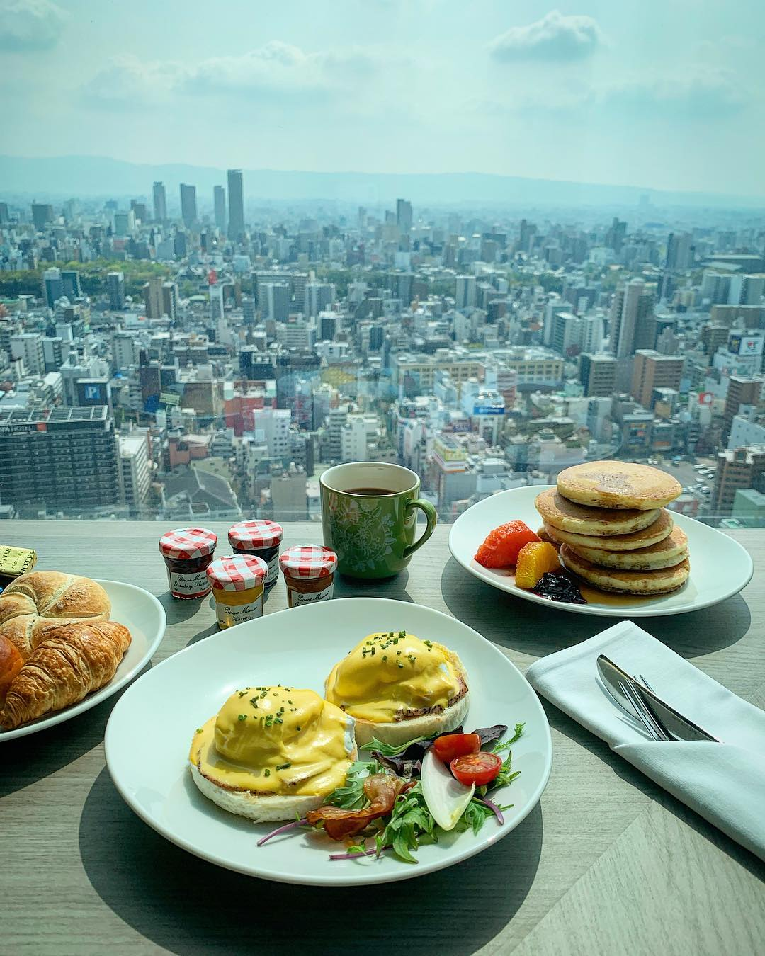 where to stay in osaka swissotel nankai
