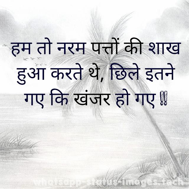 Attitude Status in Hindi New
