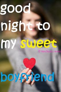 good night kiss love pic to boyfriend