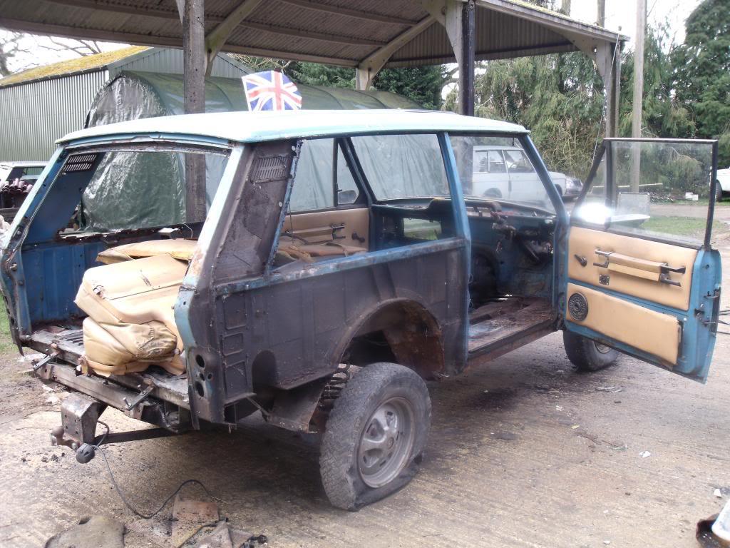 1971 Range Rover Classic: Restoration