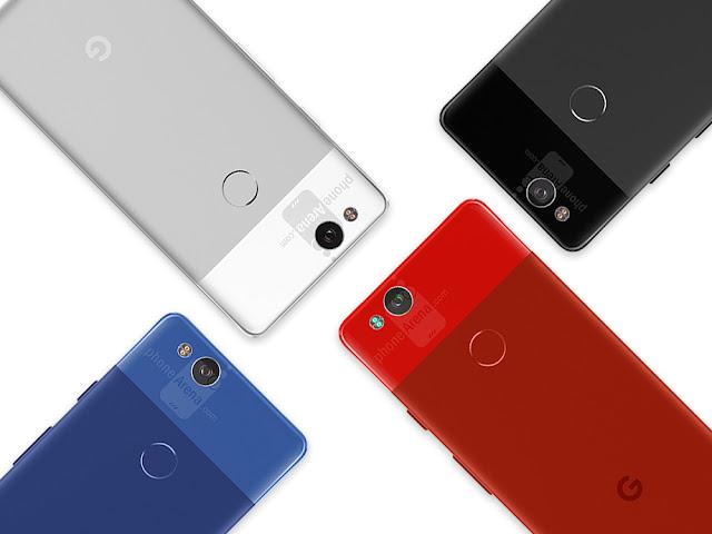 جوجل تستعد للإعلان الرسمي ىعن هاتفها  Google Pixel 2 فى أكتوبر القادم بنظام أندرويد 8.1 أوريو