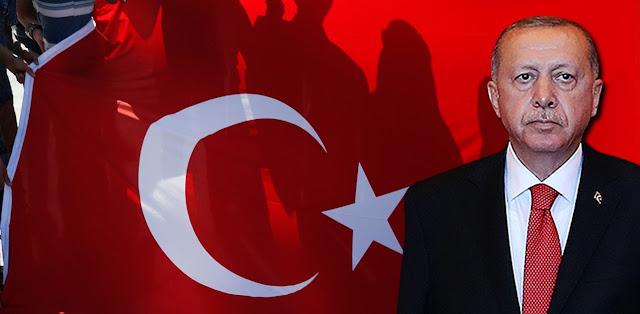 Ο Ερντογάν σε ρόλο νέου «πορθητή»