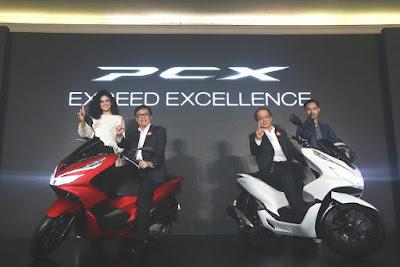 AHM Luncurkan All New Honda PCX Produksi Indonesia
