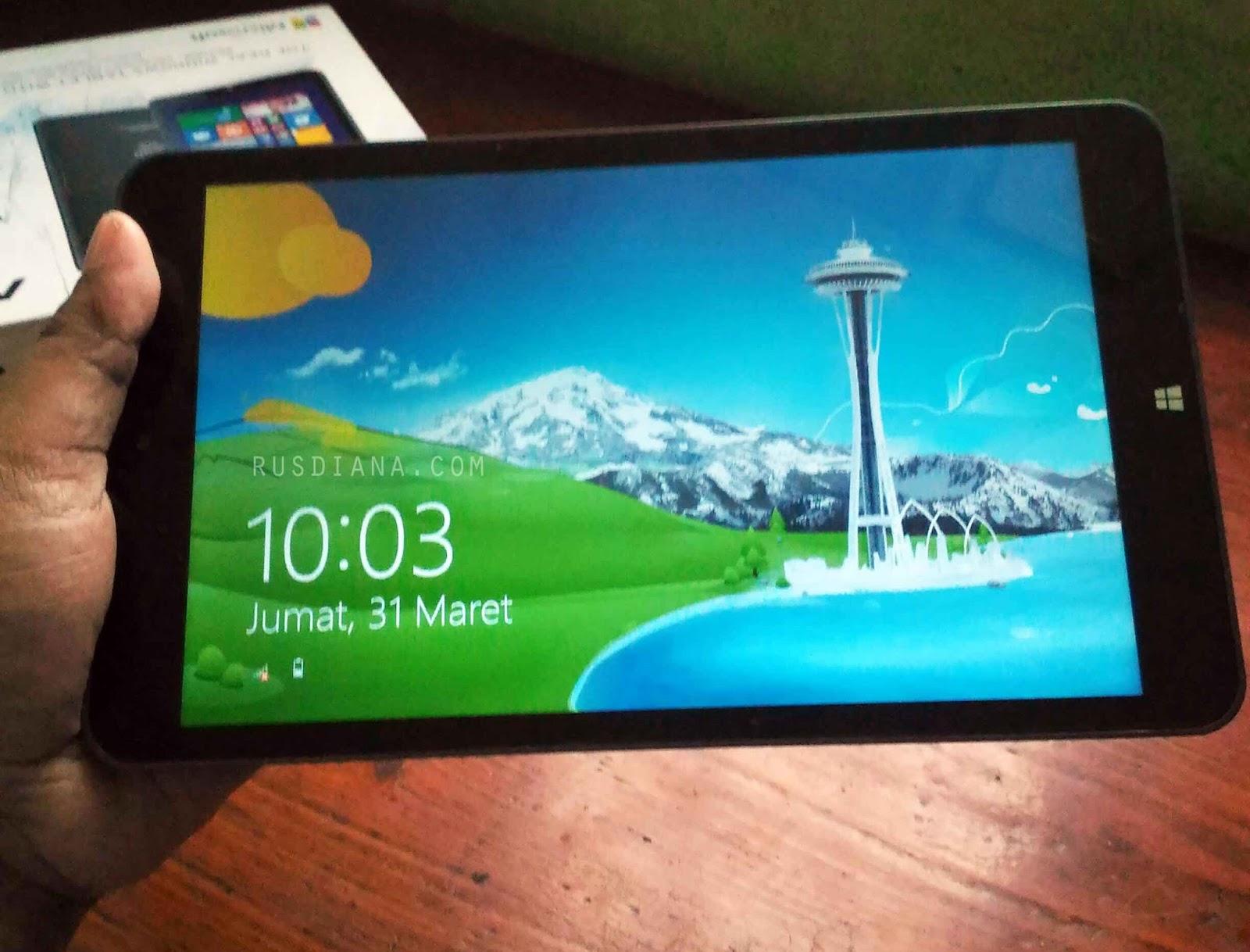 Tablet Advan Vanbook W80 Windows 8 Review