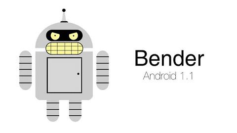Bender adalah nama Android B