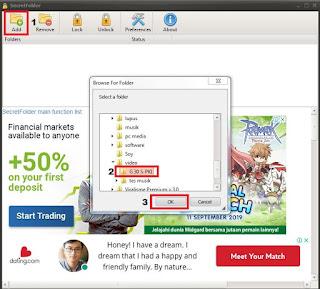 Cara Mengunci Folder Di Windows 7, 8 dan 10 Paling Mudah