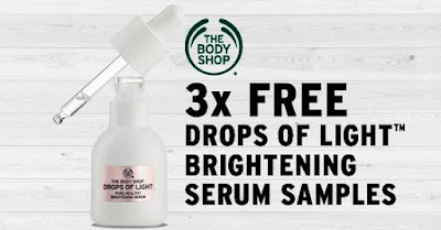 The Body Shop Malaysia FREE DOL Pure Healthy Brightening Serum Samples