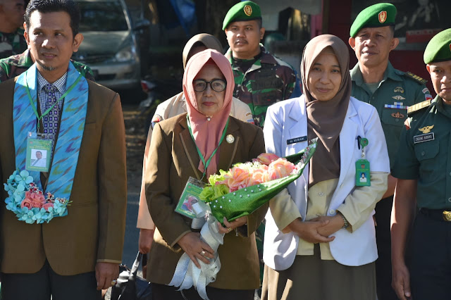 Survei Akreditasi Poliklinik Kesehatan Denkesyah Bone Dihadiri Kasrem 141/Tp
