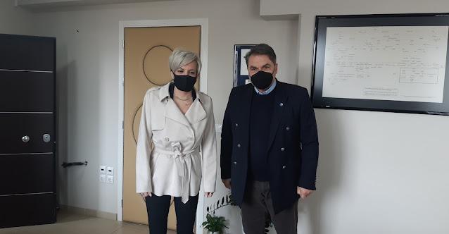 Συνάντηση της Γ.Γ.  Αντεγκληματικής Πολιτικής Σ. Νικολάου με τον Δήμαρχο Άργους Μυκηνών Δ. Καμπόσο