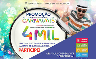 """Promoção """"De Outros Carnavais"""" - Restaura Jeans"""