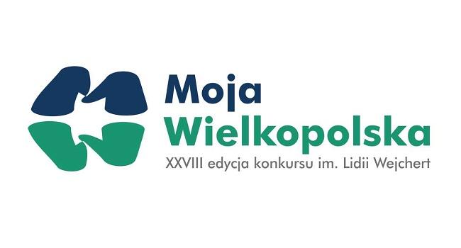 """XXVIII edycja konkursu im. Lidii Wejchert """"Moja Wielkopolska"""" - logo"""