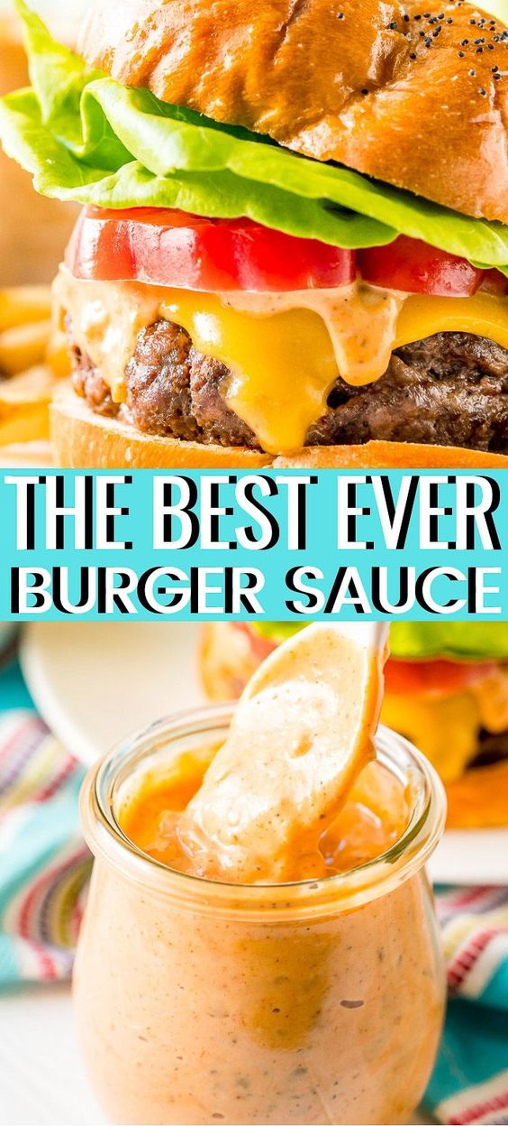 The Best Ever Burger Souce