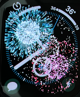 Digital Fireworks on Apple Watch