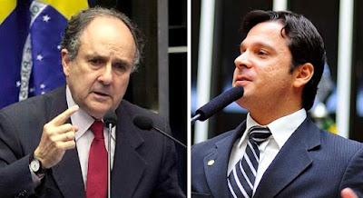 Senadores Cristovam Buarque e Antônio Reguffe deixam o PDT