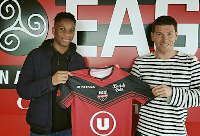 Isaac Drogba joins Liguie 1 club