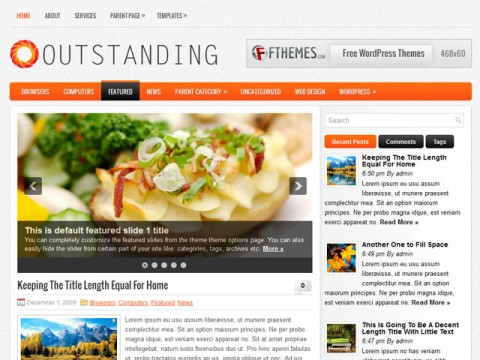 wordpress subcategory template - 4 beautiful new blogger templates including outstanding